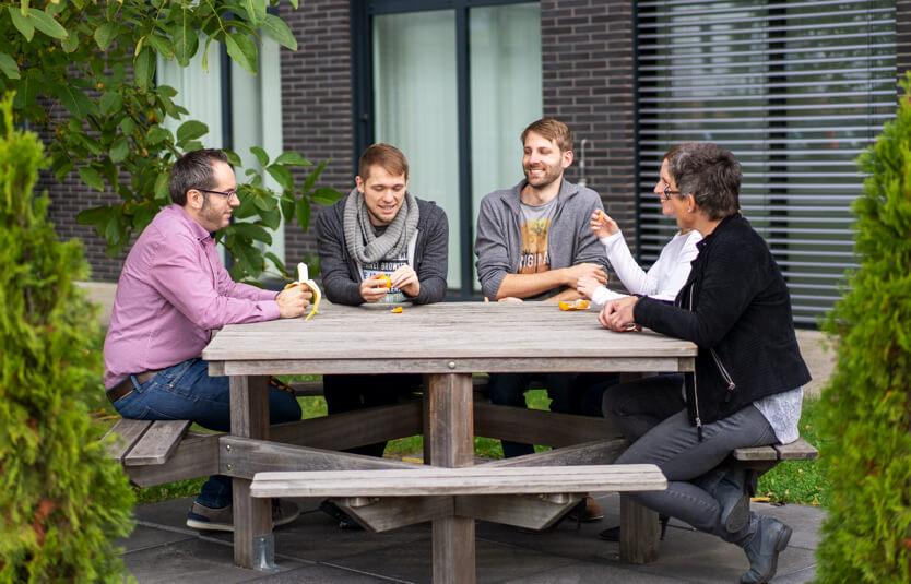 Ferber-Software Mitarbeiter Meeting Lunch