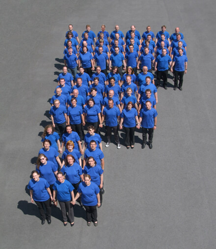 Ferber-Software Mitarbeiter Gruppenfoto