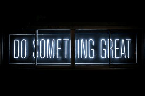 DO SOMETHING GREAT Logo