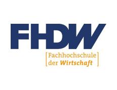FHDW Fachhochschule der Wirtschaft Logo