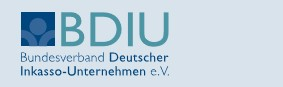 Bundesverband Deutscher Inkasso-Unternehmen e.V. (BDIU) Logo