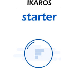 IKAROS starter Kachel