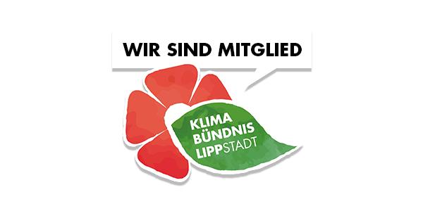 WIR SIND MITGLIED - KLIMA BÜNDNIS LIPPSTADT Logo